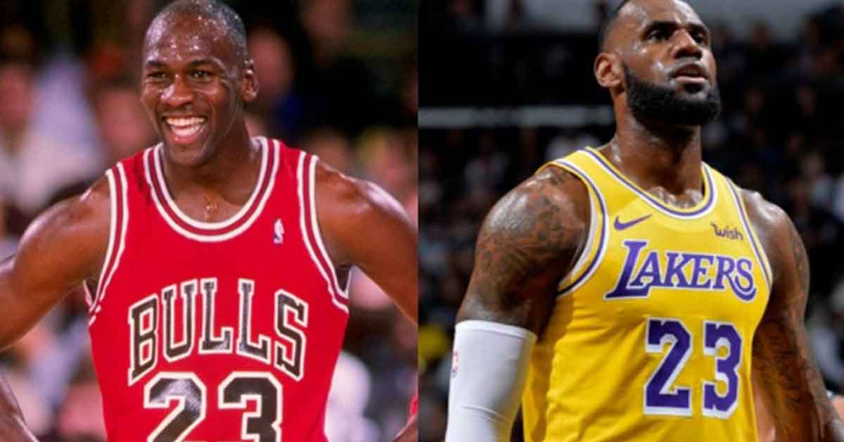 """Magic"" Johnson afirma que Jordan fue mejor que LeBron"